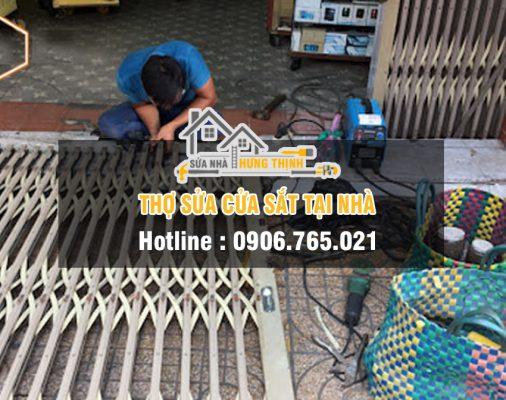 Thợ sửa cửa sắt giá rẻ