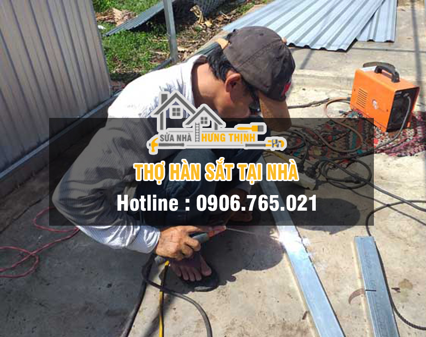 thợ hàn sắt tại nhà